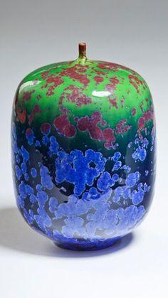 Robert Hessler | Crystalline glazed bottle