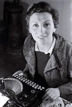 Gerda Taro, first female war photographer. Killed by a tank while covering the Spanish-American War. She was 26.