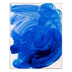 Howard Hodgkin - Swimming Official 2012 London Olympics Poster - YOU are having a LAUGH? Its just a blue splurge Swimming Posters, Gerhard Richter, Howard Hodgkin, Blog Art, Bijoux Design, Tate Britain, Creative Review, Ouvrages D'art, Picasso