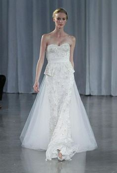 Monique Lhuillier 'Opulence' New Wedding Dress Size 8 - Nearly Newlywed Wedding Dress Shop