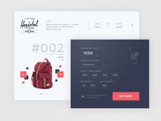 Daily UI #002 - Check Out