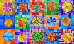 Citrus fruits in complementary colors (Arte a Scuola) Color Art Lessons, 6th Grade Art, School Art Projects, Art Lessons Elementary, Elements Of Art, Art Lesson Plans, Art Classroom, Art Plastique, Teaching Art