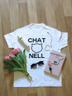 SHOP IT NOW ON STRADIVARIUSISTERS.BLOGSPOT.COM or stradivariusisters@gmail.com #fashion #chanel #chatnell #cat #streetwear #ootd Streetwear, Chanel, Ootd, T Shirts For Women, Shopping, Fashion, Street Outfit, Moda, Fashion Styles