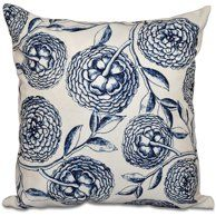 Red Velvet Floral Decorative Pillow Cover Home