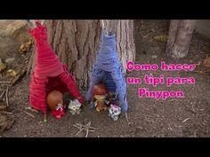 Manualidades: Como hacer un tipi para Pinypon - El Mundo de Inma