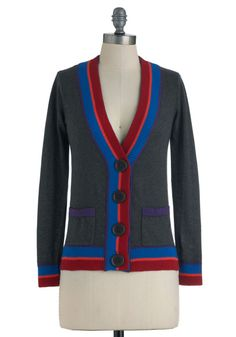 "modcloth:  "" Shop the Art Club President Cardigan.  """