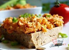 Nejlepší recepty na sýrovou pomazánku   NejRecept.cz Slovak Recipes, Lchf, Baked Potato, Tzatziki, Ethnic Recipes, Food, Essen, Meals, Baked Potatoes
