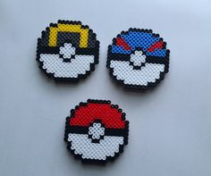 **1 Magnet Qualifies for a FILL THE BOX order** --------------------------------------------------  [Message me for Bulk Pricing for parties, weddings etc!]   Product Details: These Pokemon Pokeball magnets are completely handmade by me! Perfect for your refrigerator, dorm room, locker or any magnetic surface!   Each Pokeball has 1 or 2 magnets attached to the back!  Magnets are approximately 3 x 3 inches.  Caring For Your Product: This item is completely handmade by me. I always put lots…
