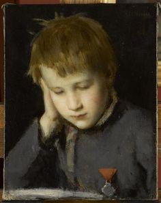 Paul Henner à la médaille, avant 1867 -  Jean Jacques Henner (1829-1905) - Réunion des Musées Nationaux-Grand Palais