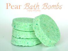 Simply Designing with Ashley: DIY Bath Bomb Recipe {Pear}