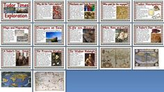 KS2 History Teaching Resource -  Exploration in Tudor Times  printable classroom display posters for primary schools