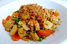 Gezonde Nasi zonder Pakje (met Satesaus!) | Optima Vita | Bloglovin'