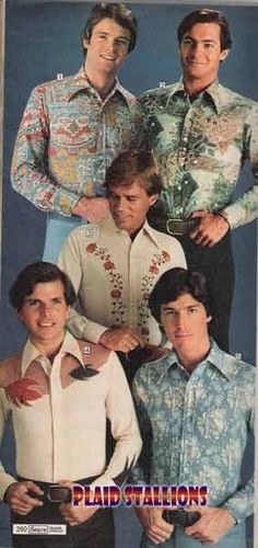 Plaid Stallions???? 27 Vintage Fashions You Need Upside Your Head Right Now