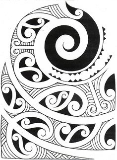 .typical Maori style