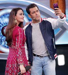 Pritty Zinta with Salman Khan Saif Ali Khan, Shahrukh Khan, Salman Khan Photo, Preity Zinta, Karisma Kapoor, Sr K, Amitabh Bachchan, King Of Hearts, Madhuri Dixit