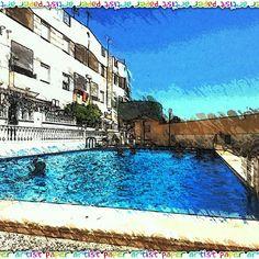 Mañanita de#piscina para soportar la #oladecalor #igers #ig #instagramers #instagram #igerstorrevieja #torrevieja #alicante #alacant #costablanca #swimingpool #verano #summer #water #agua #picoftheday #calor #vacaciones #summertime #holidays
