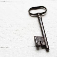 I love skeleton keys!  I have 3 hanging on my wall.