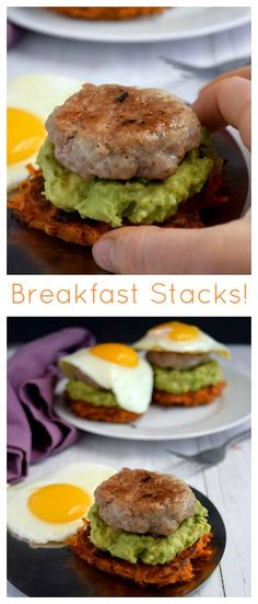 I was lucky enough to share this recipe at PaleoParents.com this week! To get the full recipe, follow the link at the bottom of this post. Breakfast Stacks! A perfectly fried egg, spiced pork sausage, creamy mashed avocado and crisp sweet potato hash browns with a soft center … I think I died and went...Read More »