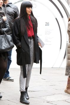 Barcelona / Madrid street style: those boots are simply delish