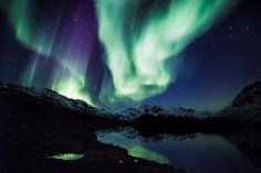 Nordlichter über Grönland (Foto von: Mads Pihl/Visit Greenland)