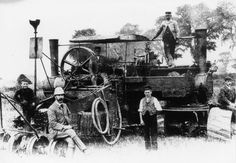 My Dad told me about the Darby Digger many years ago and I just saw another mention of it today and I thought I'd share it here. The Darby Digger was a steam-driven machine for ploughing fiel… Digger, Engine, Steam Punk, Google Search, Wales, Trains, Prince, Photos, Black