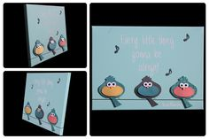 3D Nursery Art - Birds, Music Notes, Bob Marley Quote