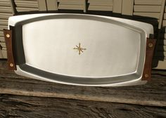Mid Century Starburst Tray by Mirro by BeachLaneVintage on Etsy, $40.00