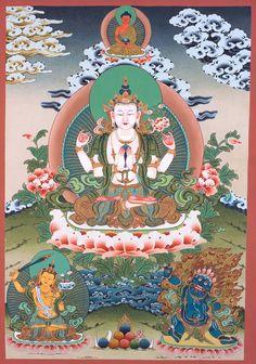 Chenrezig   Buddha KuanYin WishFulfilling   http://www.tsemrinpoche.com/?p=62528