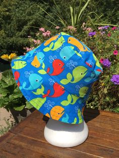 80859d0a54e Items similar to Whales Hat Reversible Bucket hat. Bucket hat. Beach hat. Sun  Hat. on Etsy