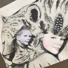 Fine art print One Sonny Day. Australian kids and children's art. Spirit animal, spirit animal art, custom portrait, custom design, guardian animal, tiger art, tiger. Perfect for wall art, little girls bedroom deco, children kids gifts, christening, baby shower, christmas present. Watercolour, painting, quote
