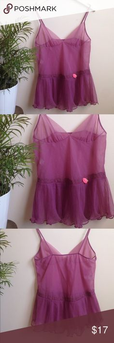 Vintage Babydoll Nightie Vintage nightie.  NOT ANTHRO BRAND just for search results :) Anthropologie Intimates & Sleepwear Chemises & Slips