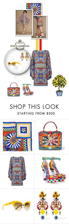 """Fashion Affair"" by leanne-mcclean ❤ liked on Polyvore featuring Dolce&Gabbana, dolceandgabbana and carrettosiciliano"