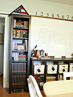 The Organized Homeschool - The Pennington Point | The Pennington Point  I want lockers!!! So cute!!
