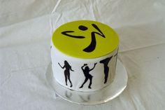 zumba birthday cake | Zumba Theme Birthday Cake