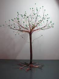 winter wire tree sculpture tutorial - Recherche Google