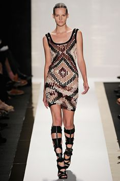 spring 2012 ready-to-wear Hervé Léger by Max Azria