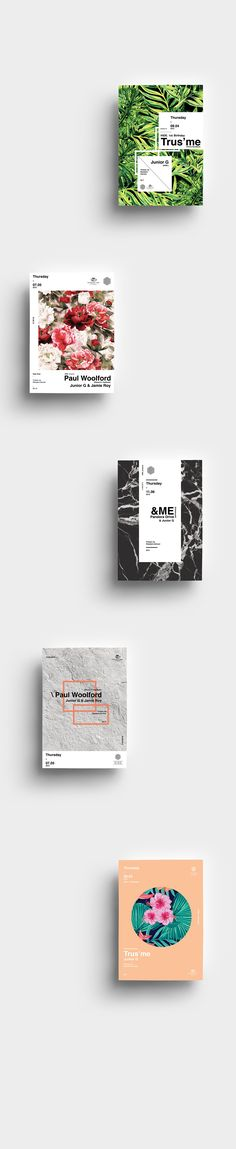 HIDE. Subclub posters on Behance