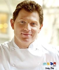 Bobby Flay at MESA, his own restraurant in Las Vegas where Kari and I had the pleasure of eating there