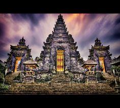 Besakih Temple, Bali by Eric Edouard Amilhat