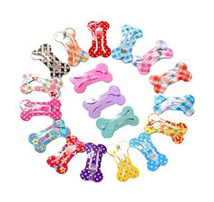 """Ypet Dog Hair Accessories 1"""" Mini Pet Hair Clip - Pack of 18 -- Awesome products selected by Anna Churchill"""