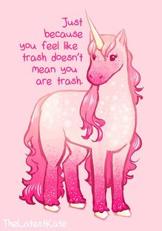 These 22 Anxiety Comics Pair Smiling Animals With Words of Encouragement Inspirational Animal Quotes, Cute Animal Quotes, Cute Quotes, Cute Animals, Smiling Animals, Cute Animal Drawings, Cute Drawings, Unicorn Quotes, Unicorn Quiz