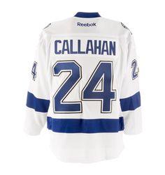 Reebok Ryan Callahan Tampa Bay Lightning Road Premier Replica Hockey Jersey  #NHL #MyTBSports #TBLightning #GoBolts #TampaBayLightning #Hockey #BeTheThunder #Sports #Apparel #Jersey #Callahan