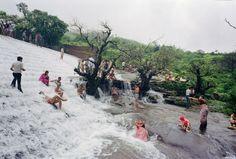 Paddle8: Bushey Dam, Lonavala, India, 1985, printed 2012 - Mitch Epstein