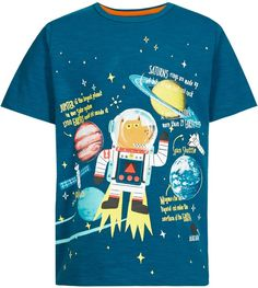 Pure Cotton Space Dog Print Boys T-Shirt (1-7 Years) £4 43% OFF! #bestdressed #fashion #ukhd #style #deal http://www.bestdressed.co.uk