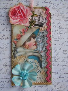 Vintage Altered Tag