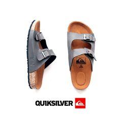 Sandal Slip On  QuikSilver  Untuk Pria dan Wanita Gray / Abu  Rp.120.000  Minat ?? * Size : 39 , 40 , 41 , 42 , 43 Hubungi Kontak Kami   089529344676 ( WA )  Mau tanya2 dulu boleh / Mau liat2 ga!bar2 produck yang lainnya juga boleh .