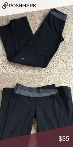 Lululemon Astro yoga pants Size 4. No rip tag attached. This is the softer material, not sure what it's called. Only flaw is pilling throughout- no holes, tears, rips. Price reflects pilling status. Still a lot of wear in these! lululemon athletica Pants Boot Cut & Flare