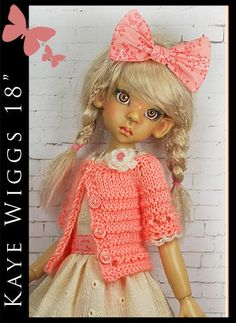 "Spring Outfit for Kaye Wiggs 18"" MSD by Maggie and Kate Create 