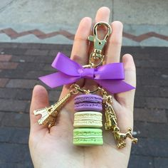 Laduree keychain or charm NFS. Too beautiful to let it go Accessories