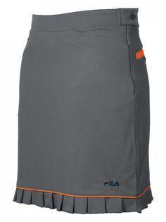 Shop the largest selection of FILA Golf Skorts including the FILA Malaga Golf Skort in Silver/Atomic Orange